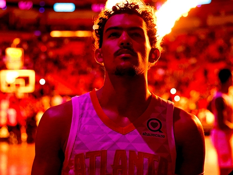 Young Hollywood Tv Rookie On The Rise Trae Young Be
